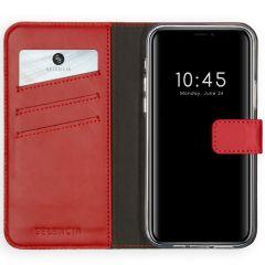 Selencia Étui de téléphone en cuir véritable iPhone 12 Pro Max