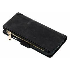 Porte-monnaie de luxe iPhone Xr - Noir
