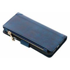 Porte-monnaie de luxe iPhone Xr - Bleu foncé