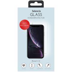 Selencia Protection d'écran antibactérienne en verre iPhone 11 / Xr