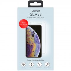 Selencia Protection d'écran antibactérienne iPhone 11 Pro Max /Xs Max