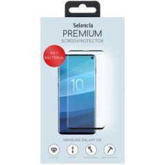 Selencia Protection d'écran antibactérienne en verre Galaxy S10