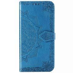 Etui de téléphone portefeuille Mandala Samsung Galaxy A51