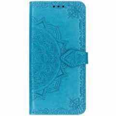 Etui de téléphone portefeuille Mandala Samsung Galaxy S10