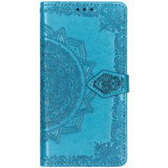Etui de téléphone portefeuille Mandala Samsung Galaxy A40