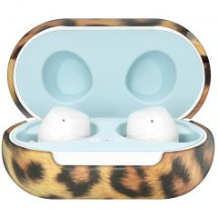 iMoshion Coque hardcover Galaxy Buds Plus / Buds  - Leopard