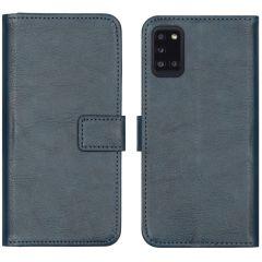 iMoshion Étui de téléphone portefeuille Luxe Galaxy A31 - Bleu foncé