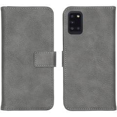 iMoshion Étui de téléphone portefeuille Luxe Galaxy A31 - Gris