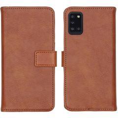 iMoshion Étui de téléphone portefeuille Luxe Galaxy A31 - Brun