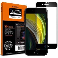 Spigen Protection d'écran GLAStR iPhone SE (2020) / 8 / 7 - Noir