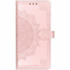 Etui de téléphone portefeuille Mandala iPhone Xr