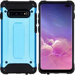 iMoshion Coque Rugged Xtreme Samsung Galaxy S10 Plus - Bleu clair