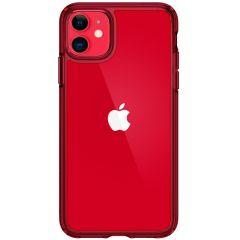 Spigen Coque Ultra Hybrid iPhone 11 - Rouge
