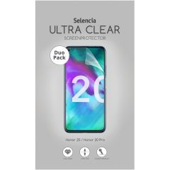 Selencia Protection d'écran Duo Pack Ultra Clear Honor 20