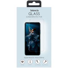 Selencia Protection d'écran en verre durci Honor 20