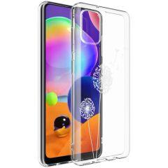 iMoshion Coque Design Samsung Galaxy A31 - Pissenlit - Blanc
