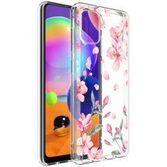 iMoshion Coque Design Samsung Galaxy A31 - Fleur - Rose