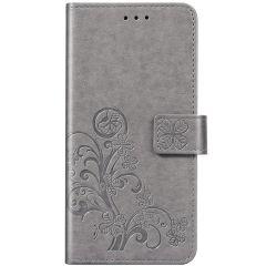 Etui de téléphone Fleurs de Trèfle Xiaomi Redmi Note 8 / Note 8 (2021)