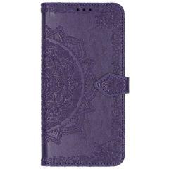 Etui de téléphone Mandala Xiaomi Mi Note 10 (Pro) - Violet