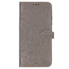Etui de téléphone Mandala Xiaomi Mi Note 10 (Pro) - Gris
