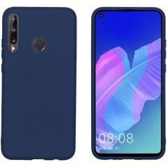 iMoshion Coque Color Huawei P40 Lite E - Bleu foncé