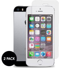 iMoshion Protection d'écran en verre durci 2 pack iPhone SE / 5 / 5s