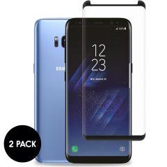 iMoshion Protection d'écran en verre durci 2 pack Samsung Galaxy S8