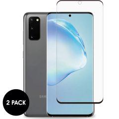 iMoshion Protection d'écran en verre durci 2 pack Samsung Galaxy S20