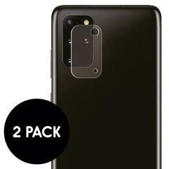 iMoshion Camera Protector Glas 2 Pack Samsung Galaxy S20 Plus