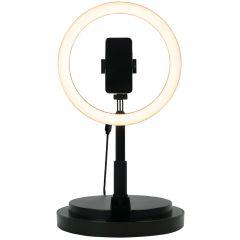 iMoshion Lampe anneau à LED - Noir
