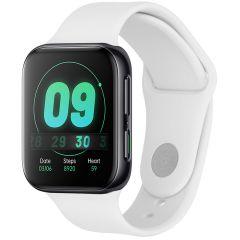 iMoshion Bracelet silicone Oppo Watch 41 mm - Blanc