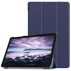 iMoshion Étui de tablette Trifold Galaxy Tab A 10.5 (2018) - Bleu