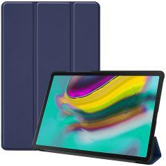 iMoshion Étui de tablette Trifold Samsung Galaxy Tab S5e - Bleu