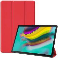 iMoshion Étui de tablette Trifold Samsung Galaxy Tab S5e - Rouge
