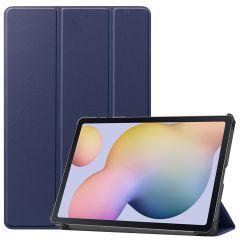 iMoshion Étui de tablette Trifold Samsung Galaxy Tab S7 - Bleu