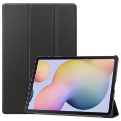iMoshion Étui de tablette Trifold Samsung Galaxy Tab S7 Plus / Tab S7 FE 5G - Noir