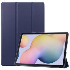 iMoshion Étui de tablette Trifold Samsung Galaxy Tab S7 Plus / Tab S7 FE 5G - Bleu