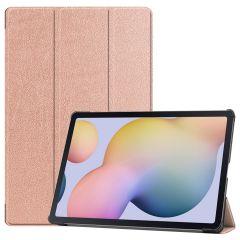 iMoshion Étui de tablette Trifold Samsung Galaxy Tab S7 Plus / Tab S7 FE 5G - Rose