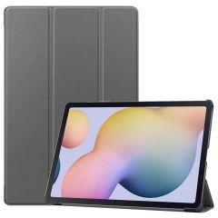 iMoshion Étui de tablette Trifold Samsung Galaxy Tab S7 Plus / Tab S7 FE 5G - Gris