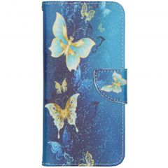 Coque silicone design Samsung Galaxy S20 FE - Blue Butterfly