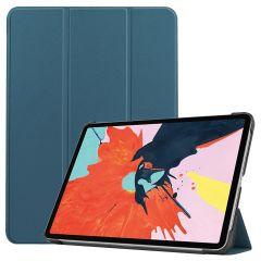 iMoshion Étui de tablette Trifold iPad Air (2020) - Vert foncé