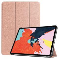 iMoshion Étui de tablette Trifold iPad Air (2020) - Rose Champagne