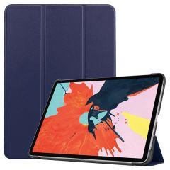 iMoshion Étui de tablette Trifold iPad Air (2020) - Bleu foncé