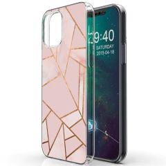 iMoshion Coque Design iPhone 12 Mini - Cuive graphique - Rose