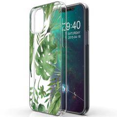 iMoshion Coque Design iPhone 12 Mini - Feuilles - Vert