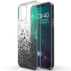 iMoshion Coque Design iPhone 12 Mini - Eclaboussures - Noir
