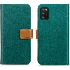 iMoshion Étui de téléphone portefeuille Canvas Luxe Galaxy A41