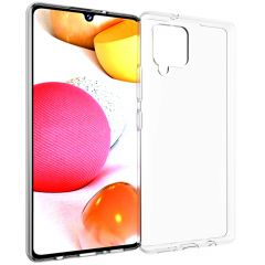Accezz Coque Clear Samsung Galaxy A42 - Transparent