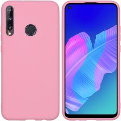 iMoshion Coque Color Huawei P40 Lite E - Rose