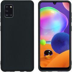 iMoshion Coque Color Samsung Galaxy A31 - Noir